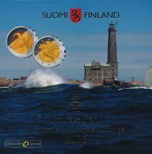 Finnland KMS 2006 Rahasarja I - EUR 5,88 mit 2 Euro UN-Mitgliedschaft