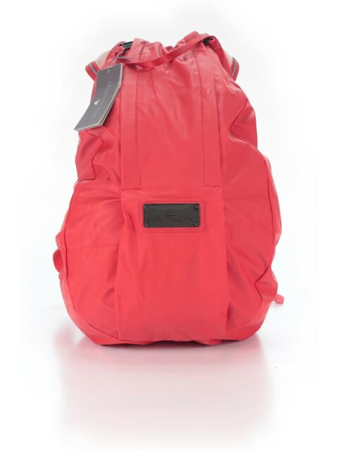 108d8ac8d0 NWT  150 adidas by Stella McCartney Running Cycling Backpack Orange Red  Color