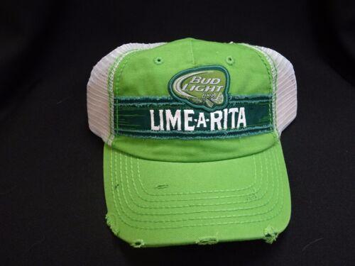 LIME-A-RITA BUDWEISER BUD LIGHT ANHEUSER BUSCH BEER TRUCKER SUMMER  HAT CAP