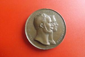 *bronze (1854)/1922 Brandenburg-preussen / Dortmundpreußen Wilhelm (box1) Reinigen Der MundhöHle.