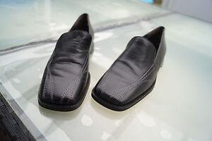 Details zu PAUL GREEN Damen Schuhe Slipper Mokassins Gr.4 37 schwarz Leder TOP #15
