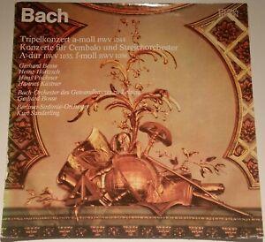 Bach Tripelkonzert Bosse Pischner Kästner Sanderling Eterna Stereo 8 26 843