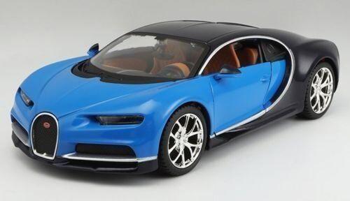 34514 * Bugatti Chiron Blue//Dark Blue Special Edition 1:24 Diecast Model