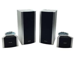 Details about Pioneer S-HTD540 (Front-R, Front-L, Surround-R, Surround-L)  100W Speaker System