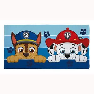 Details About Paw Patrol Peek Towel Cotton Childrens Chase Marshall 140cm X 70cm