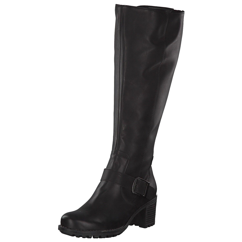 Jenny Damen Stiefel schwarz Größe 37 38 39 41 Absatz MADISON-ST Absatz 67359