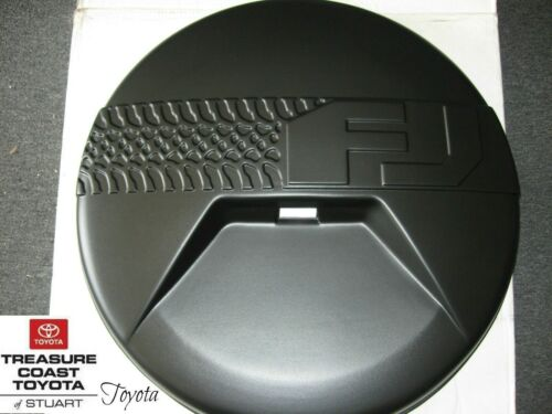NEW OEM TOYOTA FJ CRUISER SPARE TIRE COVER MODELS WITH BACK UP CAMERA