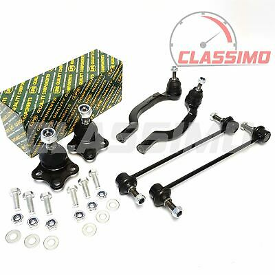 ALFA ROMEO MITO FRONT 2 ANTI ROLL BAR LINKS 2 OUTER TRACK ROD ENDS 2 BALL JOINTS