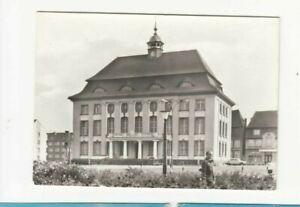 Ansichtskarten-Bauwerke-Malchin-Rathaus-Architektur