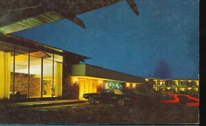 MIDLAND-MICHIGAN-HOLIDAY-INN-US-10-amp-EASTMAN-ROADS-NIGHT-VIEW-CAR-MICH-M