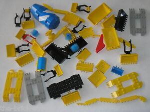 vrac lot de pi ces lego city town btp chantier travaux. Black Bedroom Furniture Sets. Home Design Ideas