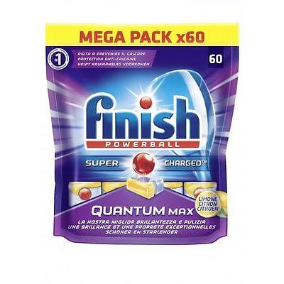 FINISH Finish Quantum Max 60 Lemon pastiglie tabs lavastoviglie