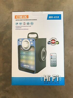 Bluetooth Speaker Portable Outdoor Wireless Speakers with USB//TF//FM//Aux Radio