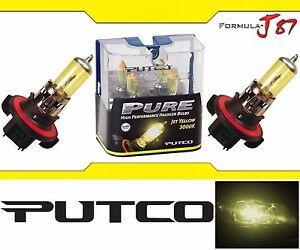 Putco-Amarillo-3000K-9008-H13-230013JY-60-55W-Bombillas-dos-cabeza-luz-moto-de-nieve