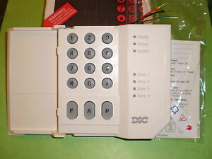 Details about DSC PC500RK PC500 4 Zone Alarm Keypad Classic for PC550 PC560  NEW!