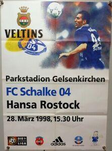 Offizielles-Spielplakat-28-03-1998-BL-FC-Schalke-04-vs-Hansa-Rostock-12