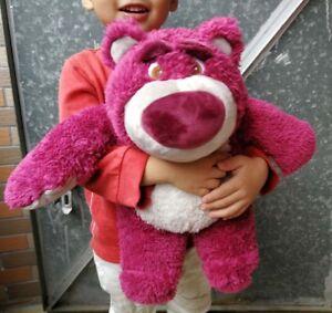 Disney-Store-Toy-Story-Lotso-Bear-Plush-Doll-Toy-Stuffed-Animal-13-inch-Gift