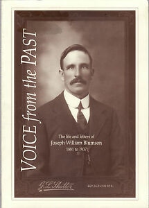 VOICE-FROM-THE-PAST-LIFE-amp-LETTERS-JOSEPH-BLUMSON-South-Australia-pioneer-bp