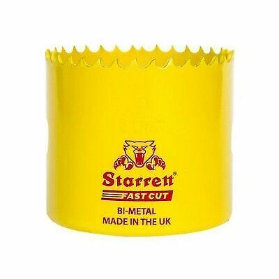 STARRETT HSS BI-METAL HOLESAWS DOWNLIGHTS HOLE SAWS AND ARBOR 14mm-92mm