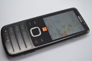 Nokia classic 6700 Mobile Phone (orange) - Schwarz