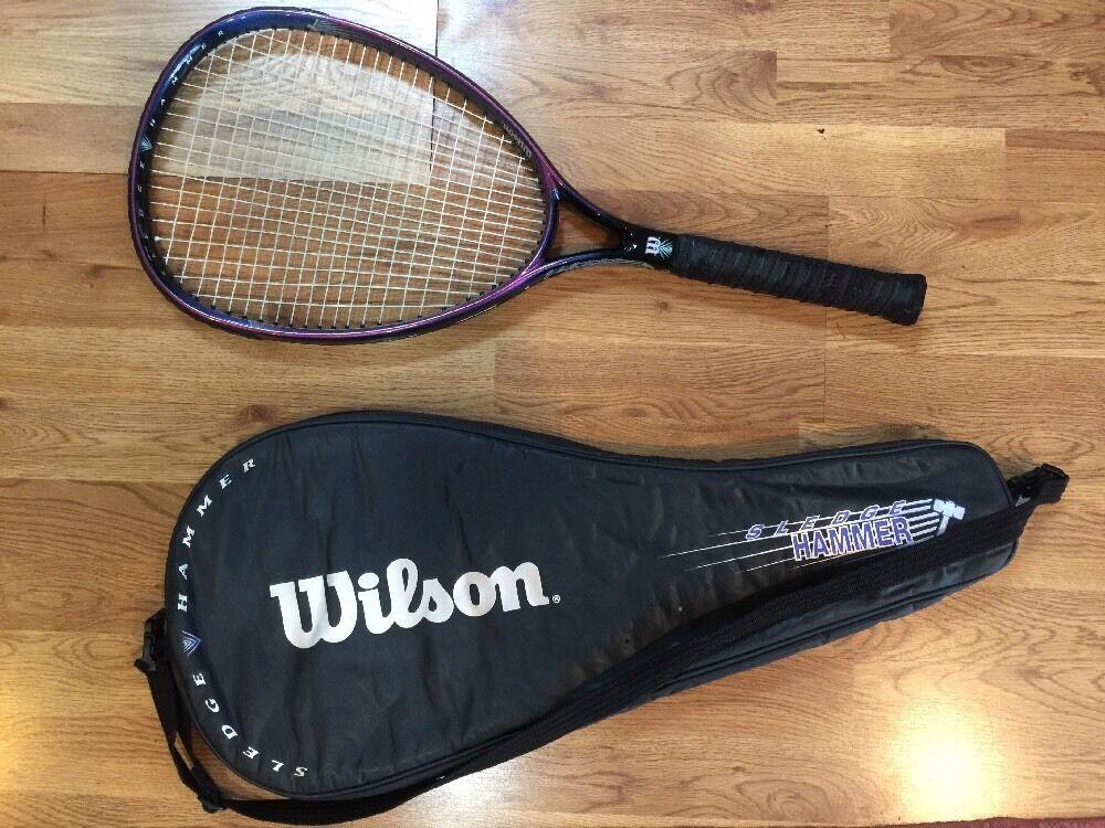 Wilson Sledge Hammer 3.8 Tennis Racquet 110 sq. in. 4 1 2 New Cushion Aire Grip