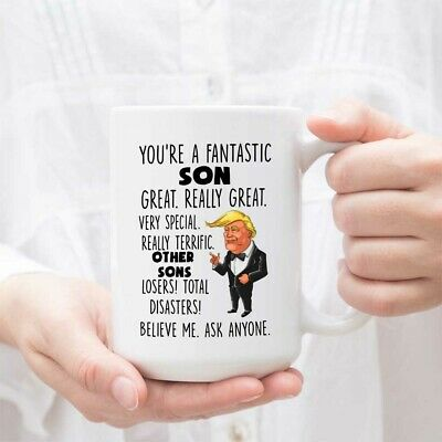 Family Son Youre A Fantastic Trump Funny Coffee Mug