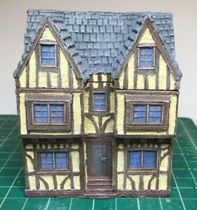 15-mm-European-Tudor-style-Manor-House-Unpainted-building-miniature
