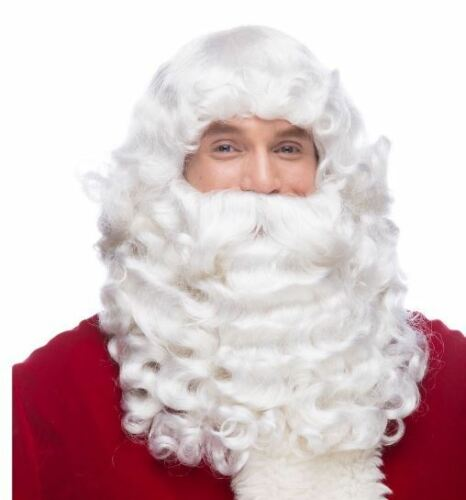 West Bay Santa Professional Quality Jumbo Wig /& Beard Set Christmas Holiday