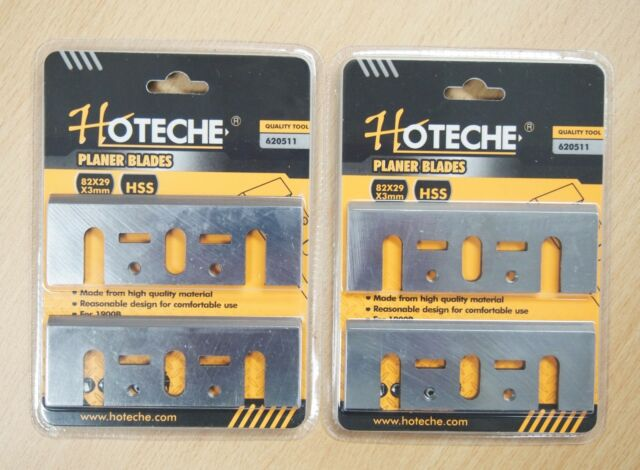 HSS for Makita N1900 Lot of Electric Planer Blades 3-1//4 in 4