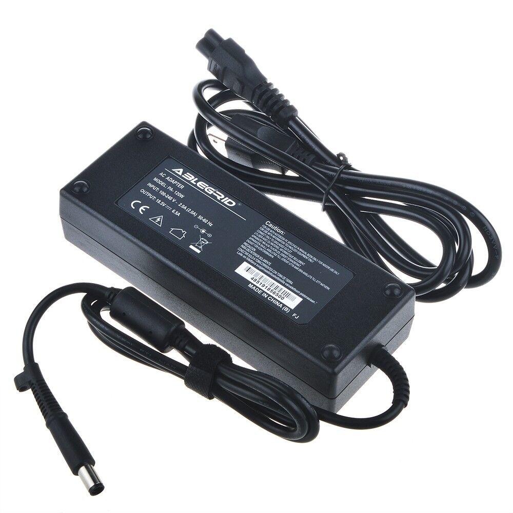 120W 18.5V 6.5A AC Adapter Power Cord for HP Pavilion DV2 DV3 DV4 DV5 DV6 DV7