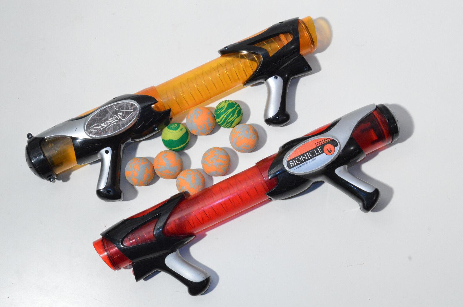 barato y de alta calidad 2 x Bola de Lego Lego Lego Bionicle Piraka tirador de armas (2007) con 8 bolas  Entrega directa y rápida de fábrica
