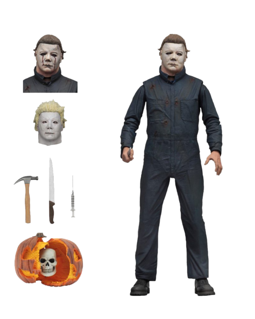 NECA 1981 Halloween 2: Ultimate Michael Myers 7 Inch Tall Action Figure