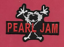 """New Pearl Jam 3 X 4""""  Inch Iron on Patch Free Shipping"""