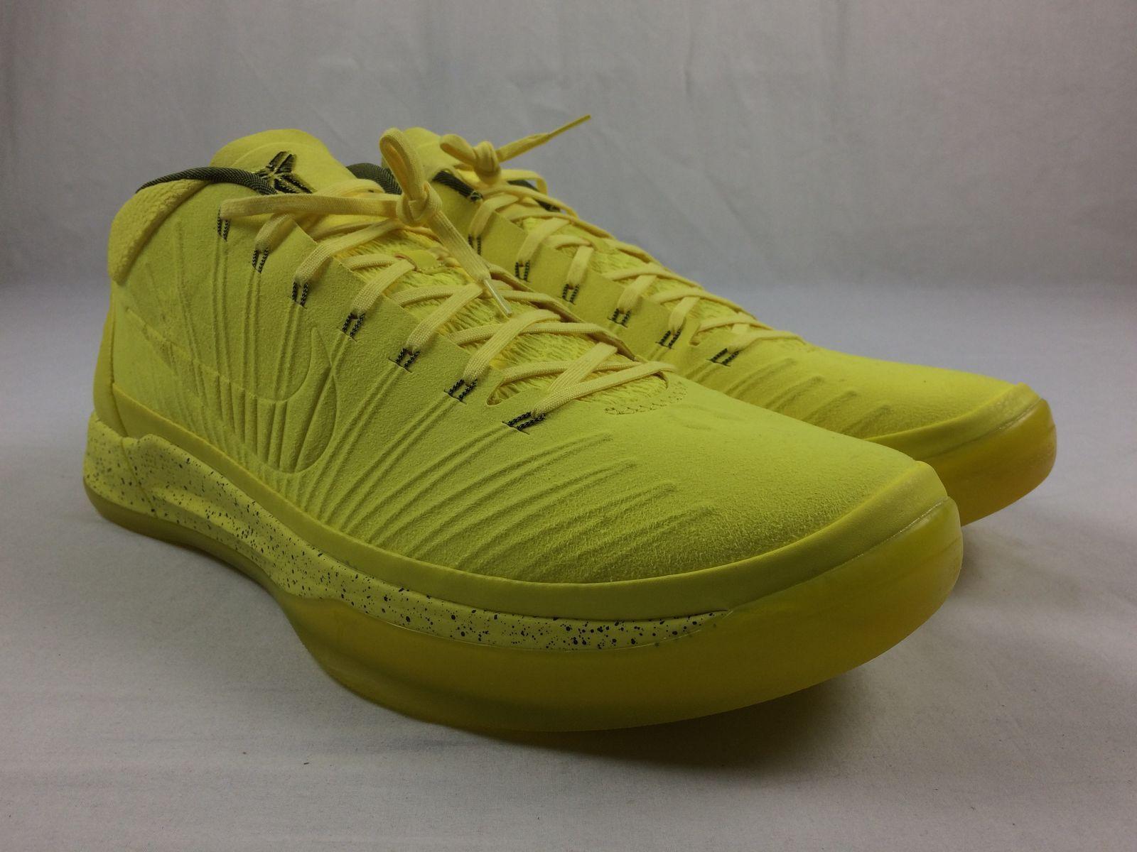 NEW Nike Kobe A.D. Sonic Yellow - Yellow Basketball Shoes (Men's 18)