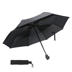 Automatic 3-Fold Umbrella Anti-UV Sun//Rain Windproof Compact Umbrella Travel