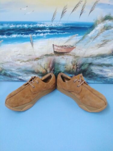 Men6 8 Balance Nubuck Leather Shoe Flat 38 Earth Beige Lace Women Mocha Brown Up wqITdCxZ