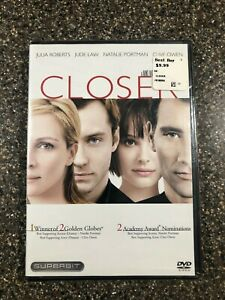 Closer-DVD-2005-Superbit-New-Factory-Sealed-Free-Shipping