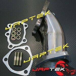 Dump-Pipe-Turbo-Outlet-For-Nissan-Silvia-200sx-S13-S14-S15-SR20-CA18-T28-Garrett