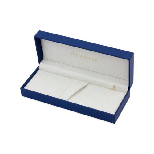 Essential Black Gold Trim Waterman Carene Rollerball Pen