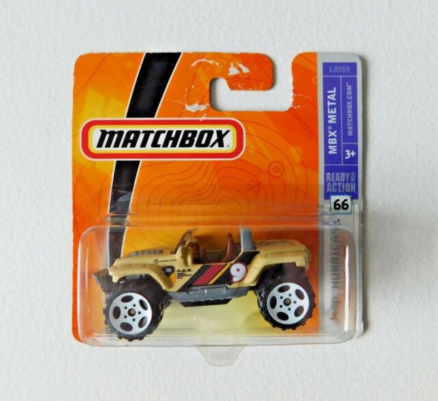 MATCHBOX Jeep Hurricane Concept #66 Tan Coloured MBX Metal Diecast Model Car
