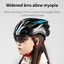 miniature 3 - Ultralight Cycling Helmet Unisex Adult Mountain Bike Bicycle Helmet with Goggles