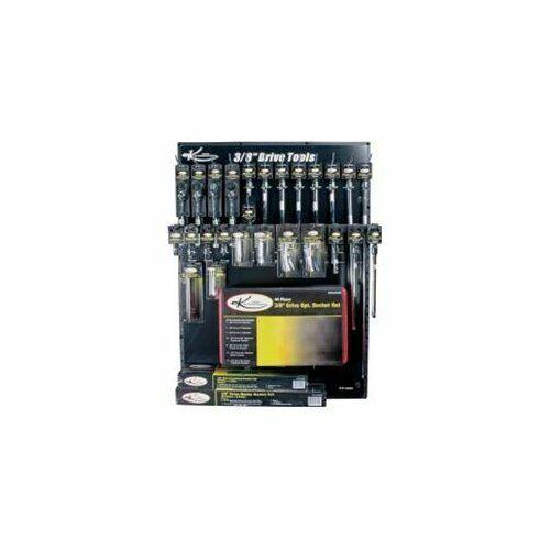 "K Tool International KTI-27520 20mm X 3//8/"" Drive 12-point Metric Standard Chrome"
