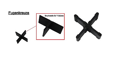 500, Fugenbreite 3mm Fugenh/öhe 20mm Fugenkreuze in 3mm,4mm oder 5mm f/ür Terrassenplatten auch Bodenplatten