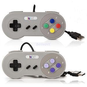 Details about 1/2/4 x USB Controller For Classic Retro SNES PC/ Mac  Emulator Windows GamePad