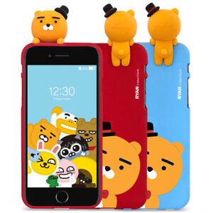 official photos d6ce7 1c976 Details about Genuine Kakao Friends Party Figure Case iPhone 7 Case iPhone  7 Plus Case 6 Types