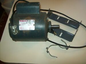 Vintage Wagner 1/2 HP Single Phase Electric Motor Dual Voltage  115/230 Lathe