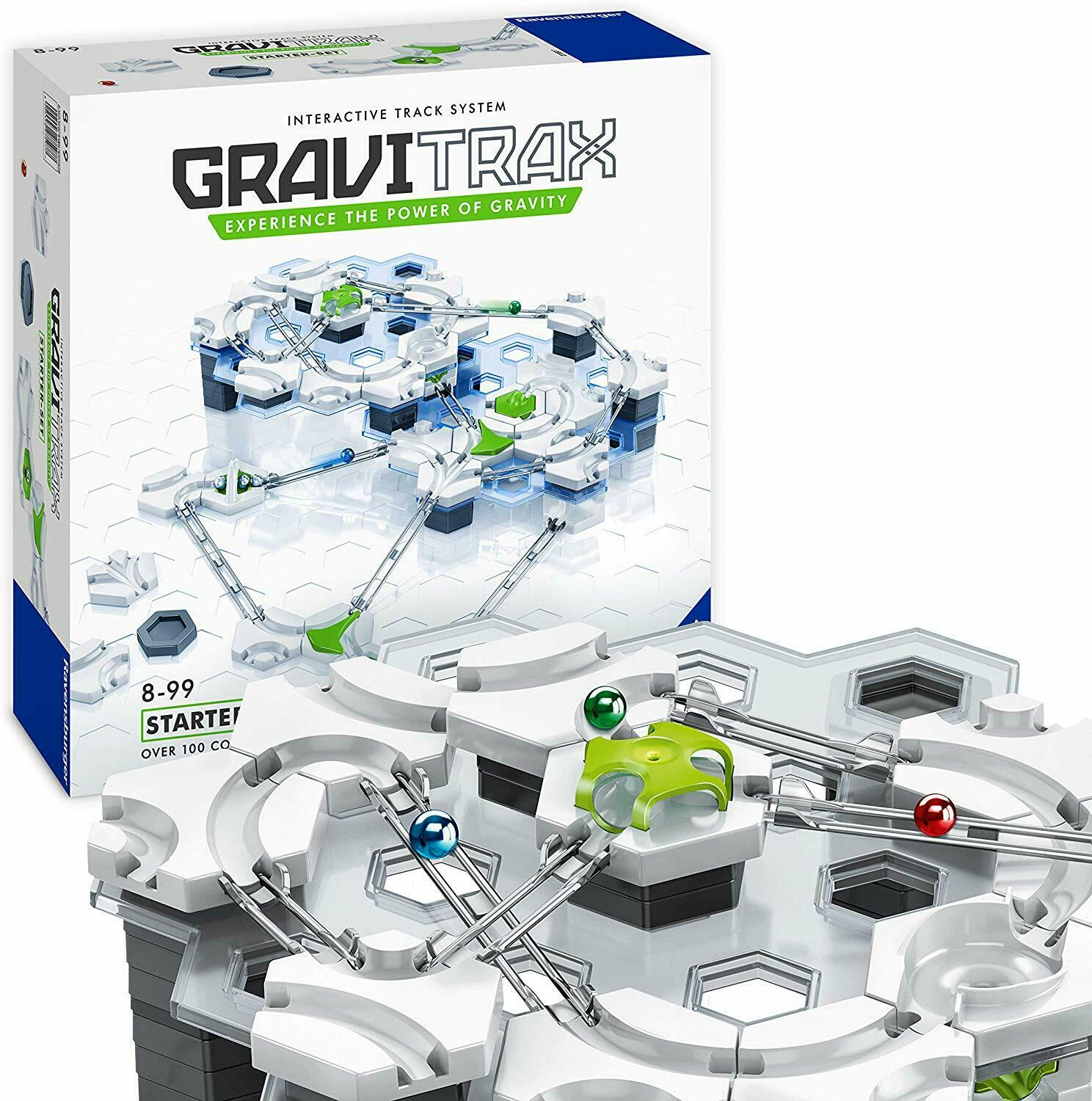 Ravensburger GraviTrax Starter Set Marble Run and STEM Toy  122 Pieces