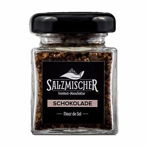 ( 9,99€/ 100g) 75g Fleur De Sel Salzmischung Schokoladensalz Fingersalz Sel Les Clients D'Abord