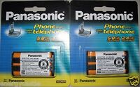 2x Genuine Panasonic Type 29 Hhrp104 Cordless Phone Replace Battery Hhr-p104a/1b