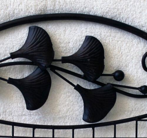 Wandhaken 44 x 29 cm Hakenleiste Vintage Shabby Antik-Look Eisen Regal